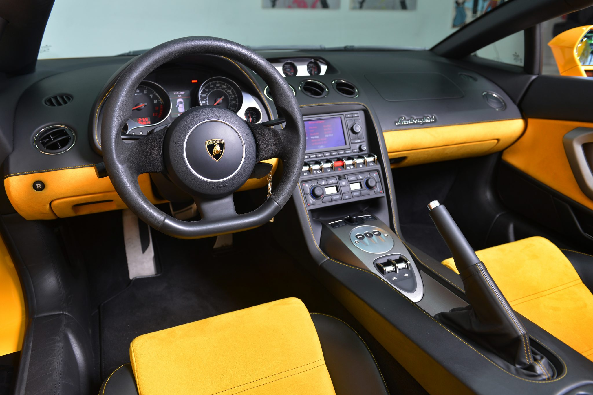 lamborghini gallardo interior luxury amp exotic car rental