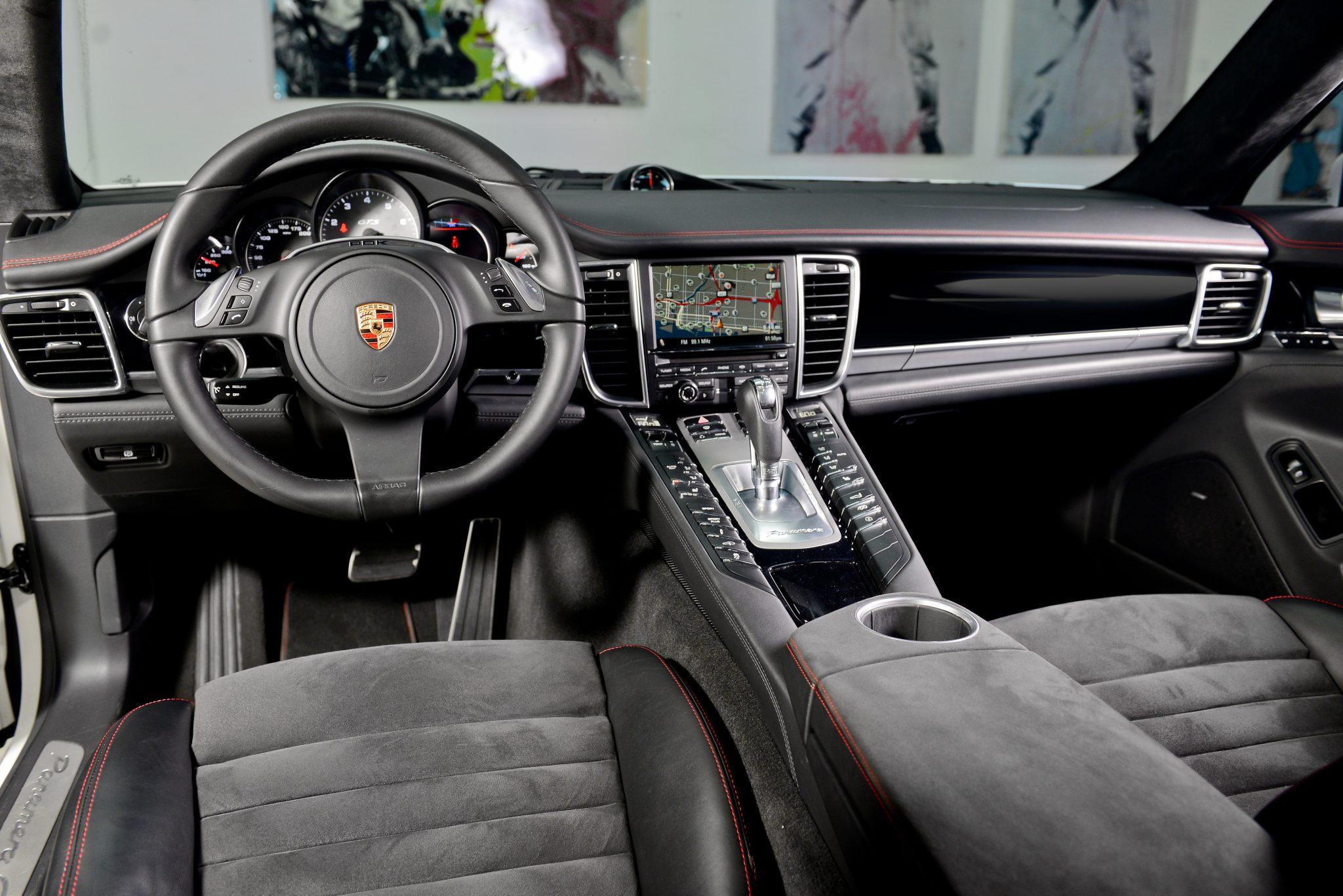 porsche panamera gts interior   luxury amp exotic car rental
