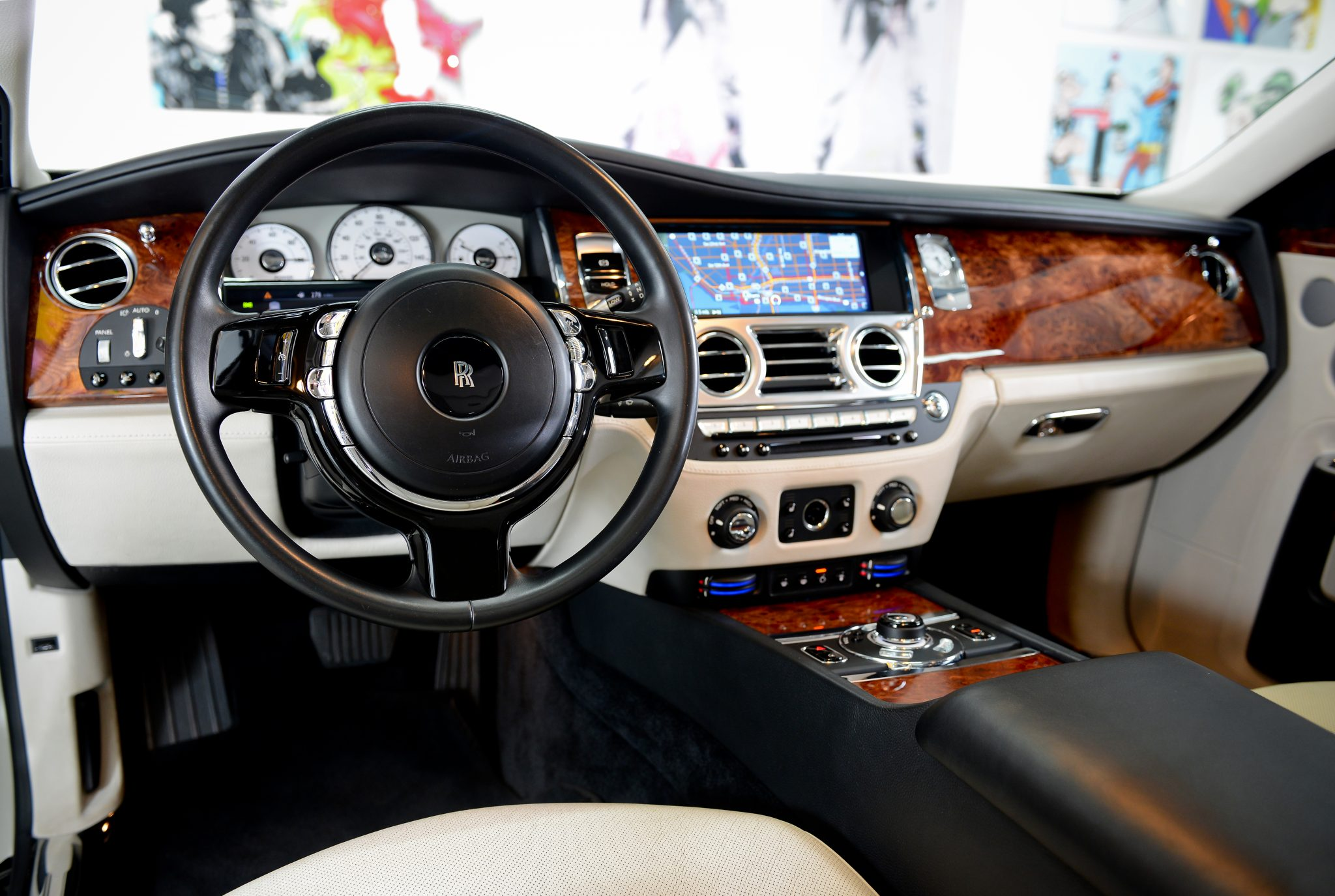 rolls royce ghost interior luxury amp exotic car rental