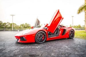 Lamborghini Aventador Track Event