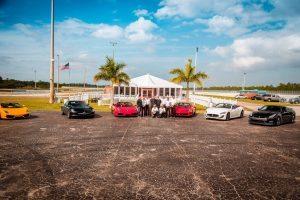 Exotic Car Track Event